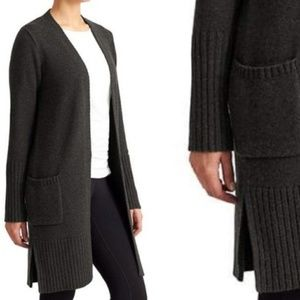 Athleta Passage Sweater Duster Cardigan Coat XS